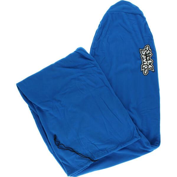 """Sticky Bumps Fleece Blue Longboard Surfboard Sock - 8'6"""""""