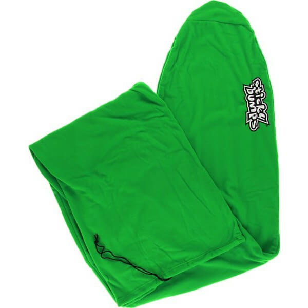 Sticky Bumps Fleece Geeen Longboard Surfboard Sock - 8'6""