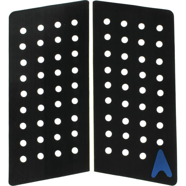 Astrodeck 410 Black Grip-Lock Front Foot Traction Pad - 2 Pieces