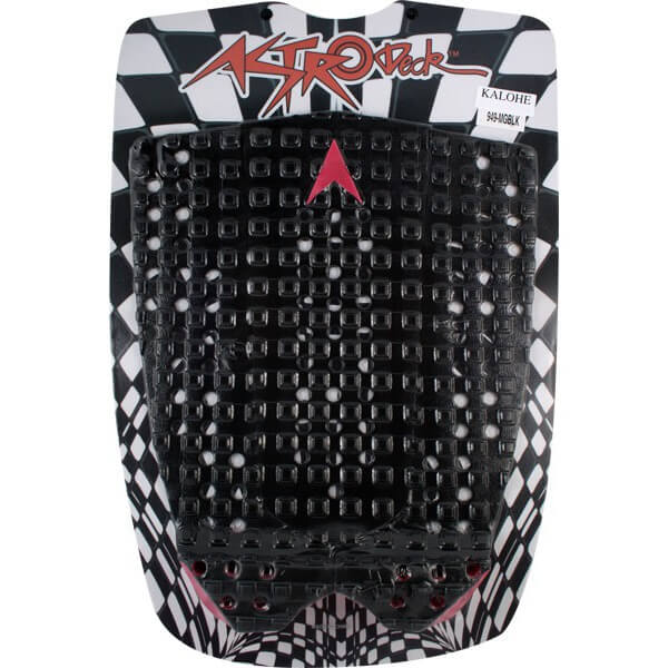 Astrodeck Kolohe Black Surfboard Traction Pad