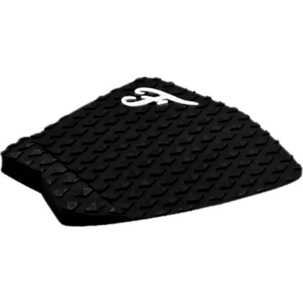 Famous Surf Deluxe F2 Black Surfboard Traction Pad - 2 Piece