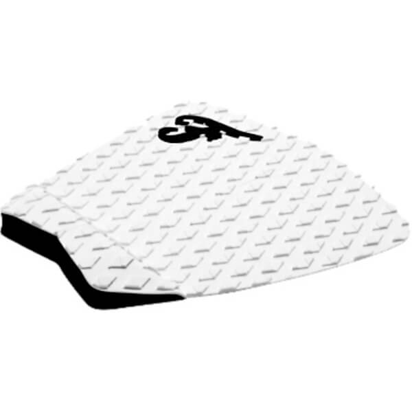 Famous Surf Deluxe F2 White Surfboard Traction Pad - 2 Piece