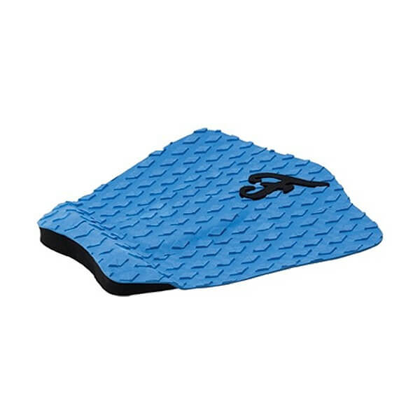 Famous Surf Deluxe F3 Blue Surfboard Traction Pad - 3 Piece