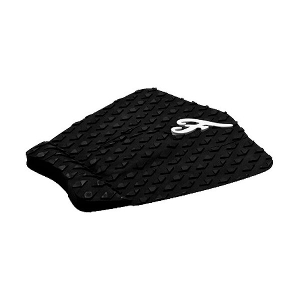 Famous Surf Deluxe F3 Black Surfboard Traction Pad - 3 Piece