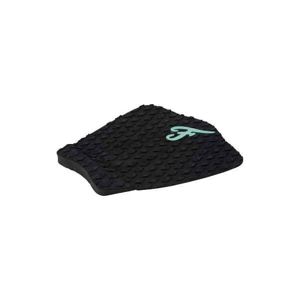 Famous Surf ECO F3 Black Surfboard Traction Pad - 3 Piece