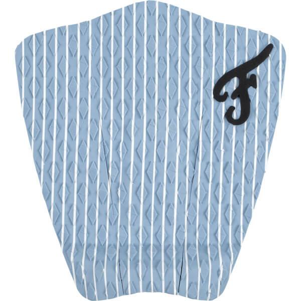 Famous Surf Friend Hampton Blue / White Surfboard Traction Pad - 3 Piece