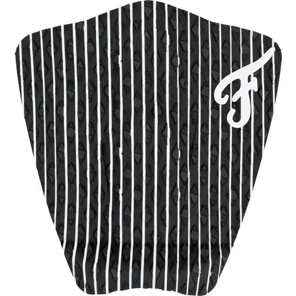 Famous Surf Friend Hampton Black / White Surfboard Traction Pad - 3 Piece