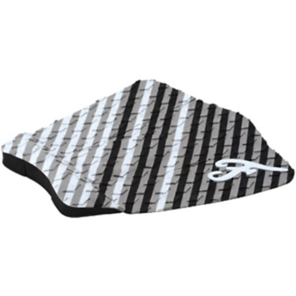 Famous Surf Figueroa White / Black / Grey Surfboard Traction Pad - 3 Piece