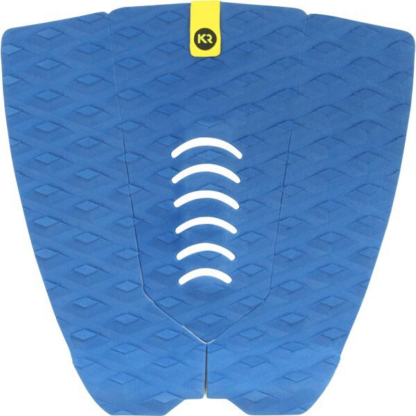 Kinetik Racing I.E. Two Track Navy Surfboard Traction Pad -3 Piece