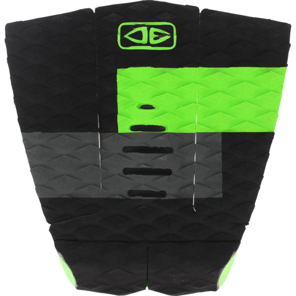 Ocean & Earth Owen Wright Signature Lime Surfboard Traction Pad - 3 Piece
