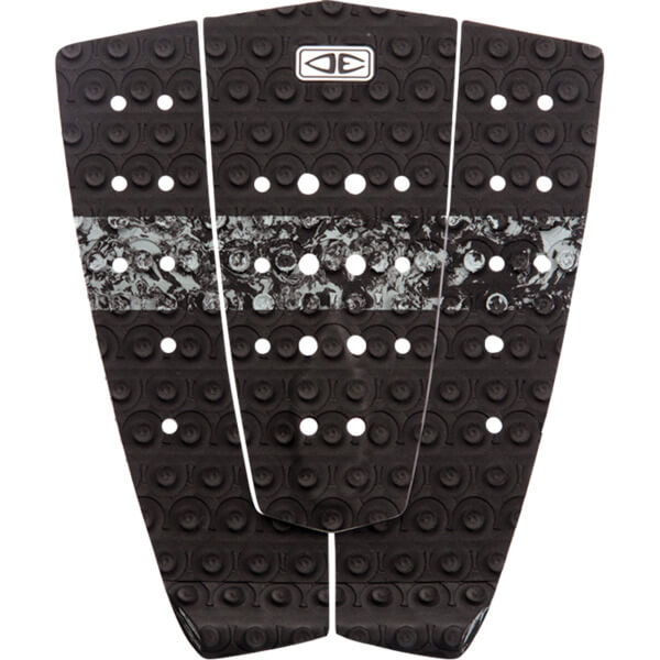 Ocean & Earth Octo Step Up Black Surfboard Traction Pad - 3 Piece