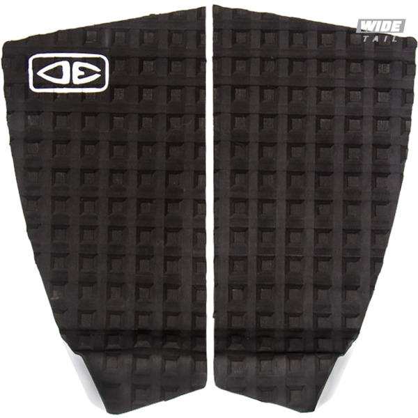 Ocean & Earth Thrash Black Surfboard Traction Pad - 2 Piece