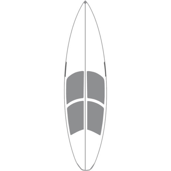 Surfco Hawaii 6' Hot Grip Wax Mat Surfboard Traction Pad