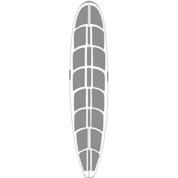 Surfco Hawaii 9' Hot Grip Wax Mat Longboard Traction Pad