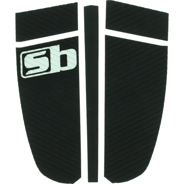 Sticky Bumps Timm Black Longboard Surfboard Traction Pad