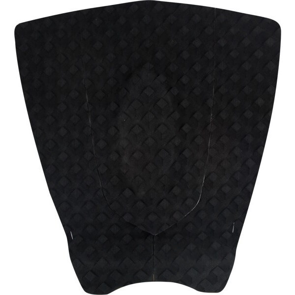 Stay Covered Shortboard Black Surfboard Traction Pad - 3 Piece