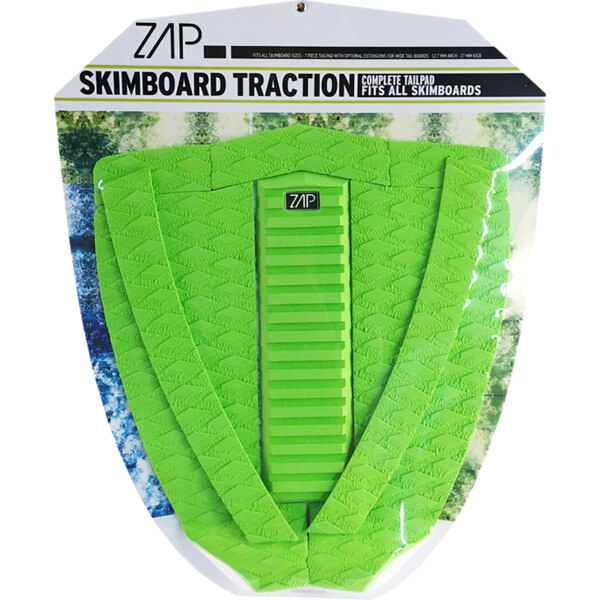 Zap Deluxe Lime Skimboard Traction Pad