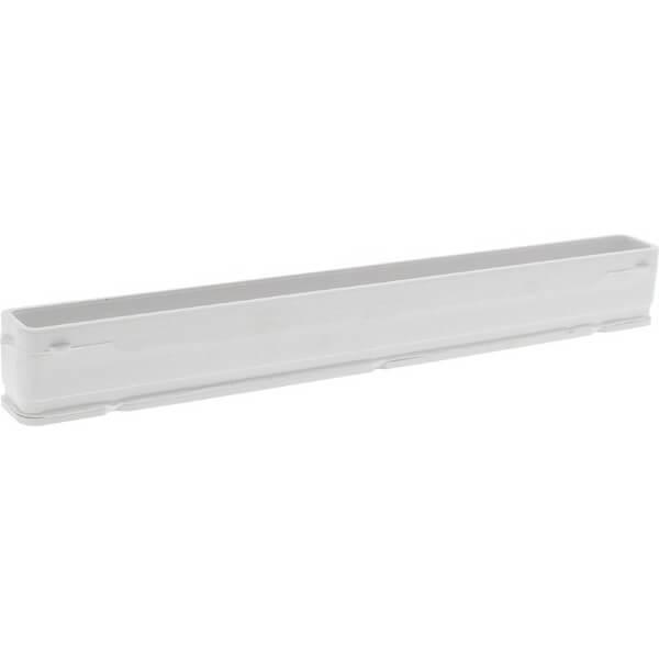 "Fins Unlimited 10.5"" Longboard White Fin Box"