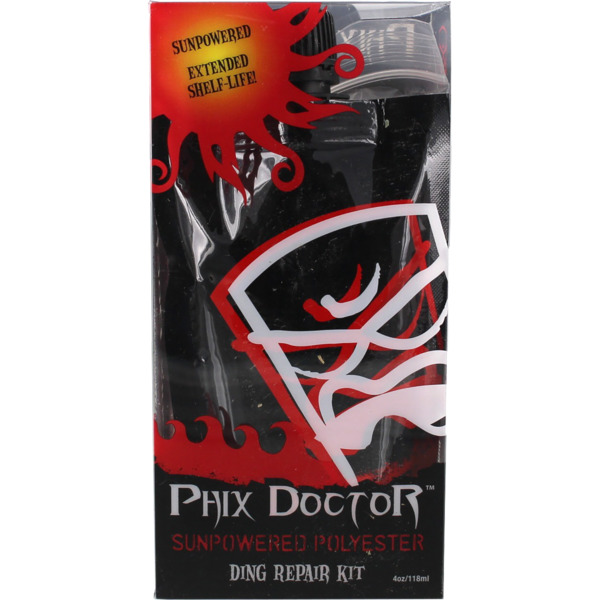 Phix Doctor 4 oz SunPowered Polyester Surfboard Ding Repair Kit