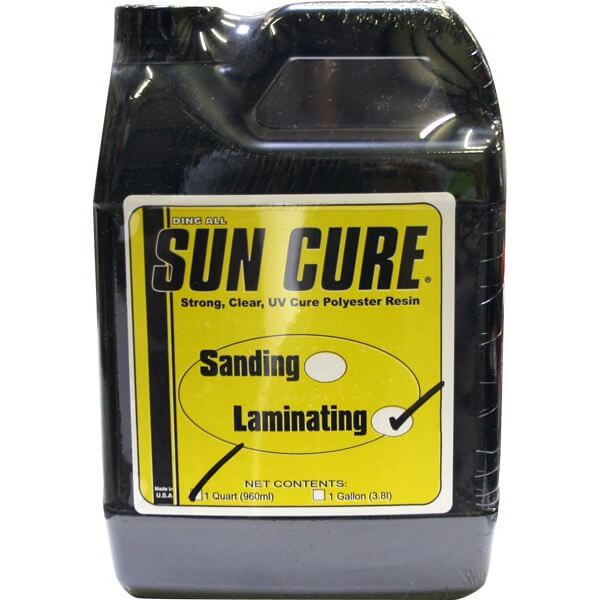 Sun Cure Ding All 1 Quart Polyester Laminating Resin
