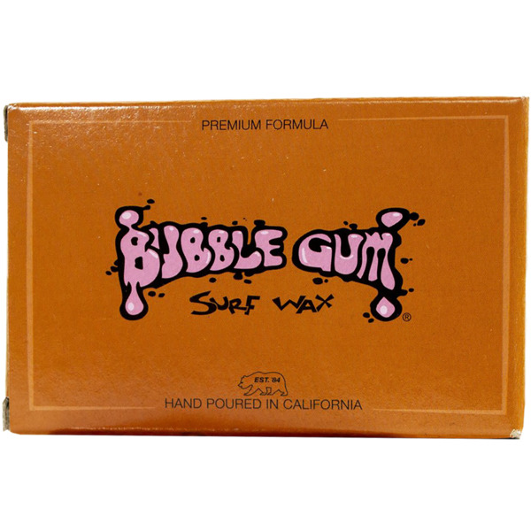 Bubble Gum Premium Blend Tropical Water Surf Wax