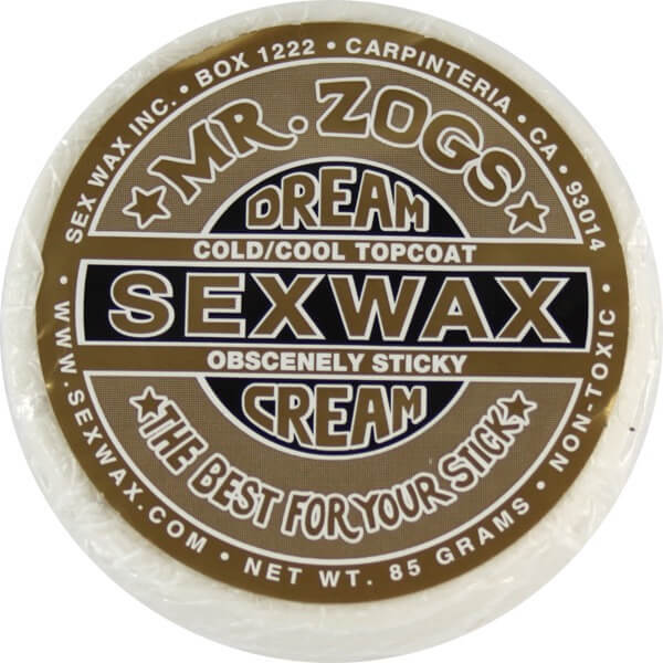 Sex Wax Dream Cream Gold Cool / Cold Water Surf Wax