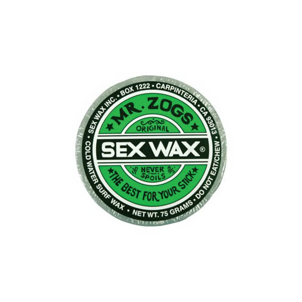 Sex Wax Original Assorted Colors Cool / Cold Water Surf Wax