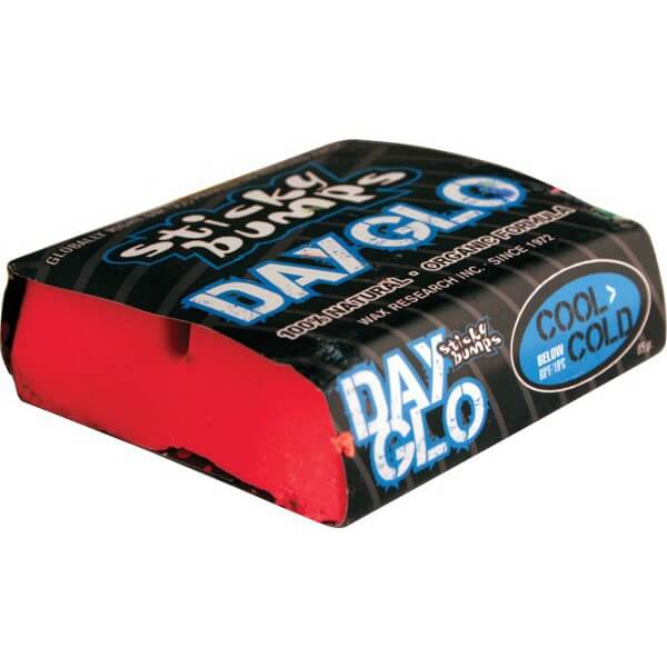 Sticky Bumps Glo Red Cool / Cold Water Surf Wax
