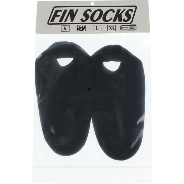 Blocksurf 2mm Large Black Fin Socks