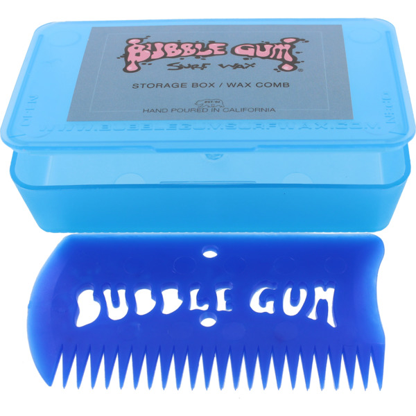 Bubble Gum Blue Wax Comb with Box