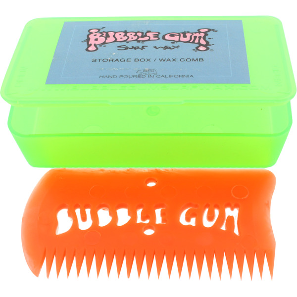 Bubble Gum Green Wax Comb with Box