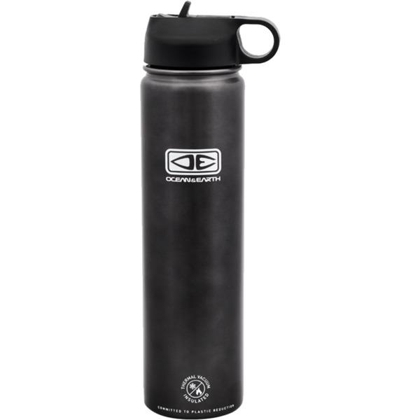 Ocean & Earth 750ml Insulated Charcoal Black Flip Lid Flask