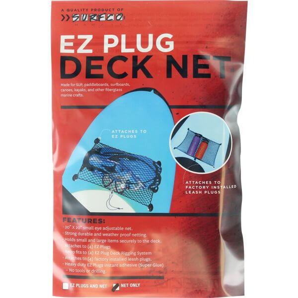 Surfco Hawaii EZ Plug Black Deck Net
