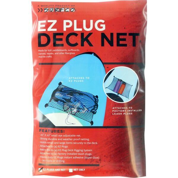 Surfco Hawaii EZ Plug Black Deck Net Kit
