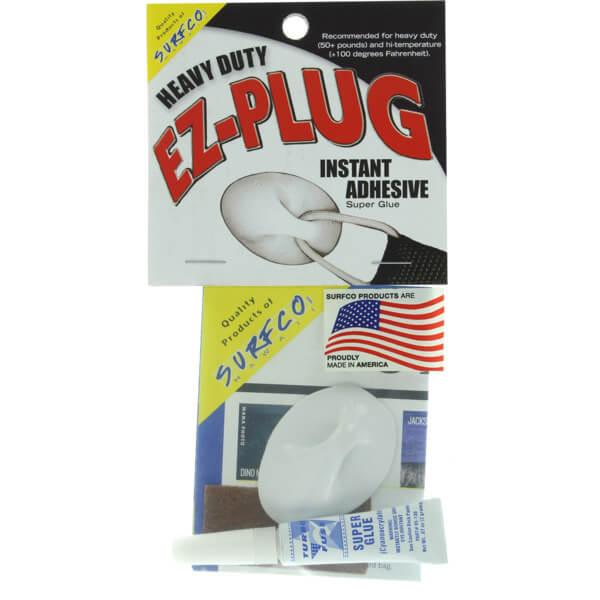 Surfco Hawaii EZ Plug Heavy Duty White Single Kit