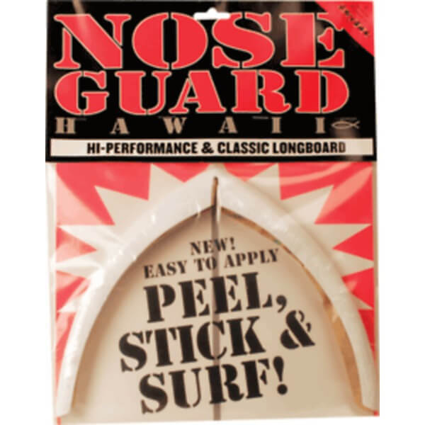 Surfco Hawaii Longboard White Nose Guard Kit