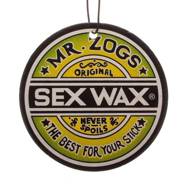 Sex Wax Assorted Single Flavor Air Freshener - Includes Only One (1) Random Flavor