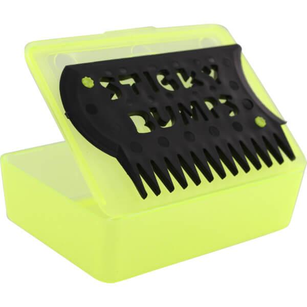 Sticky Bumps Wax Box & Comb Yellow / Black Wax Comb