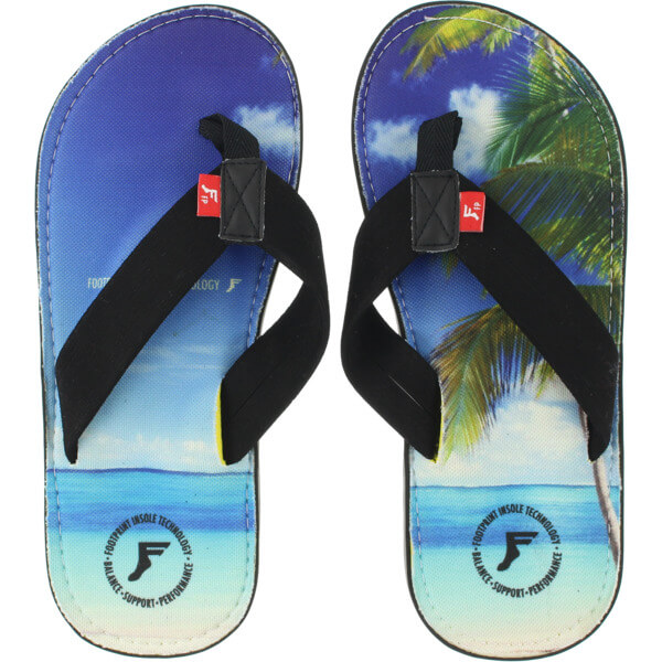 Footprint Insoles Kingfoam Orthotics Beach Sandals - 6/6.5