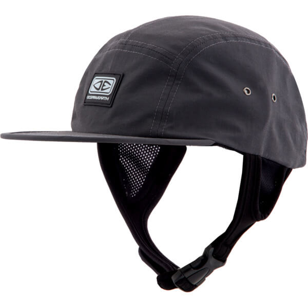 Ocean & Earth Mens Ulu Black Snapback Surf Hat - Adjustable