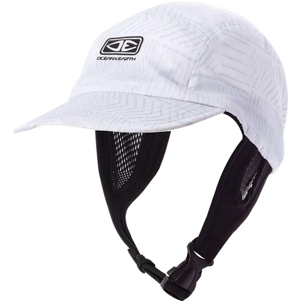 Ocean & Earth Men's Ulu Surf Cap White Hat - Adjustable