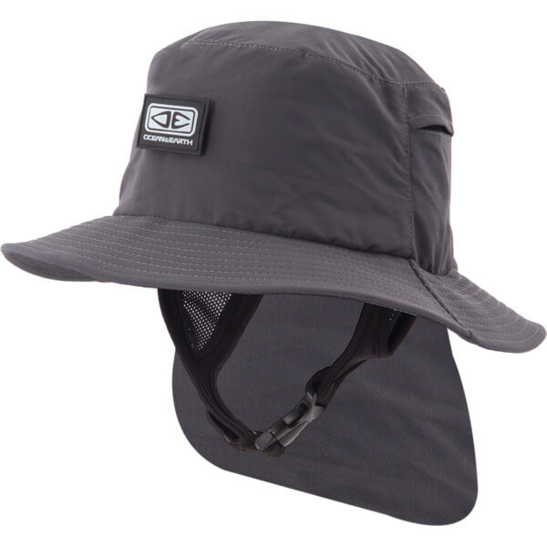 Ocean & Earth Mens Indo Stiff Peak Bucket Surf Hat