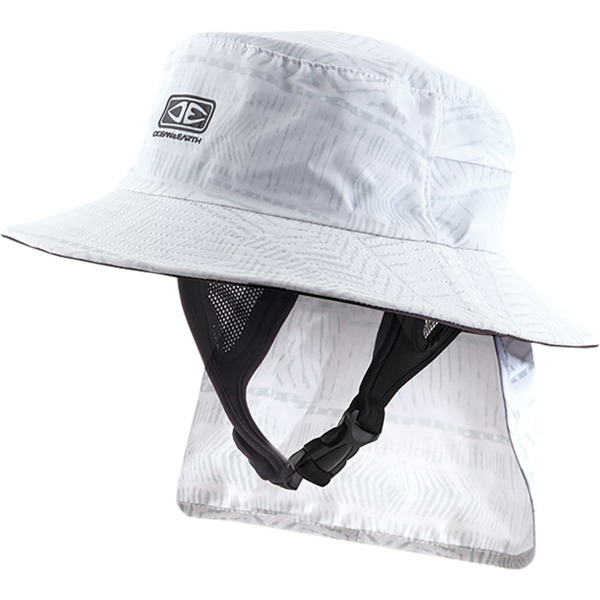 Ocean & Earth Men's Indo Stiff Peak Bucket Surf Hat