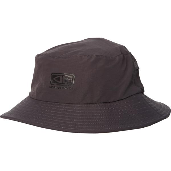 Ocean & Earth Men's Bingin Soft Peak Surf Hat Black Hat - Medium