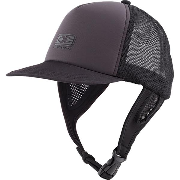 Ocean & Earth Mens Kuta Black Mesh Trucker Surf Hat - Adjustable