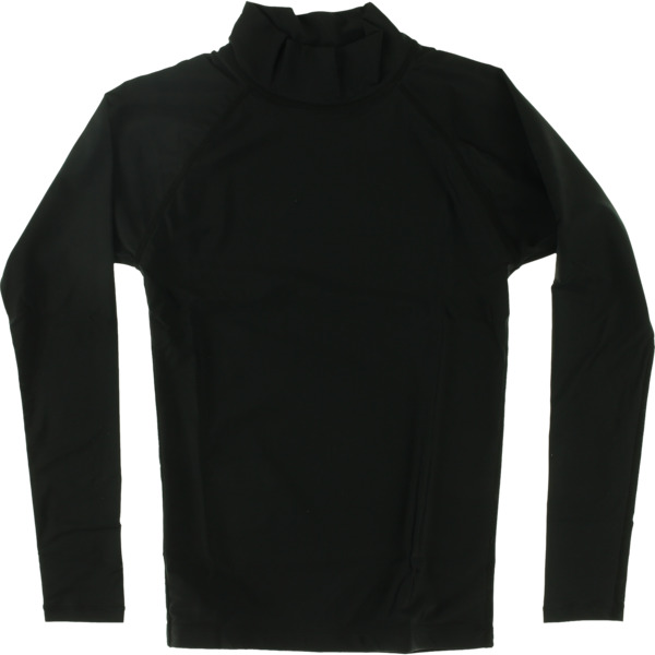 Blocksurf Long-Sleeve Black Rash Guard - Small