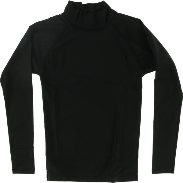 Blocksurf Long-Sleeve Black Rash Guard - Large