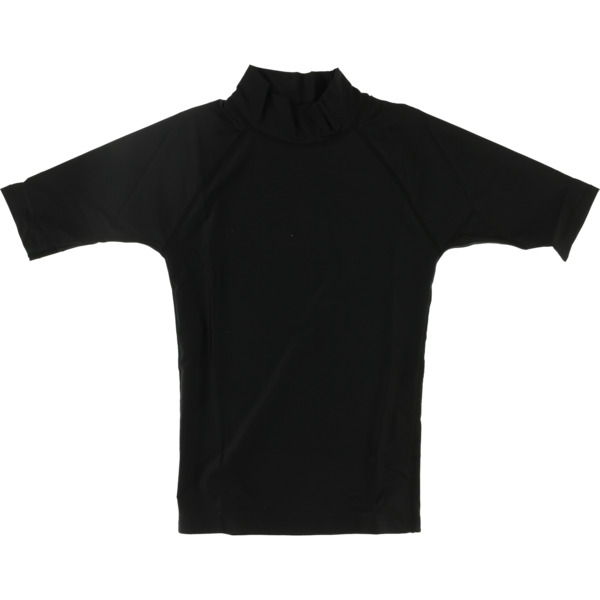 Blocksurf Short-Sleeve Black Rash Guard - X-Small