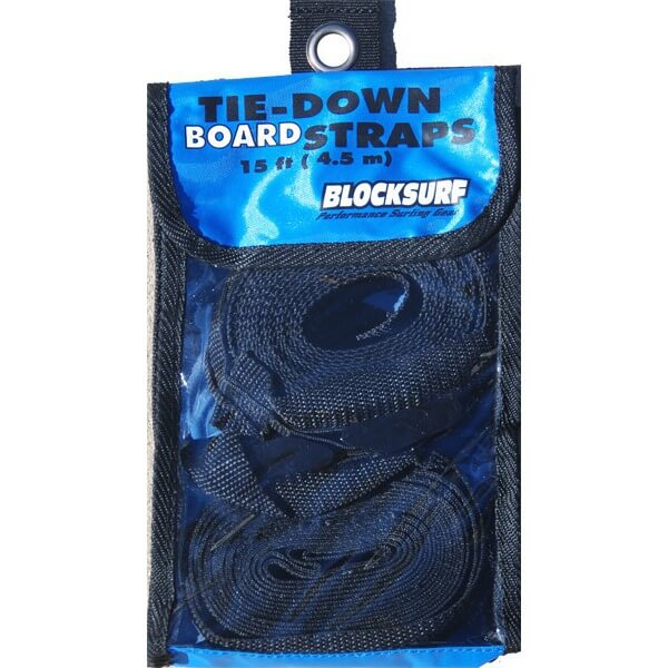 Blocksurf 15' Tie-Down Straps - Set of 2