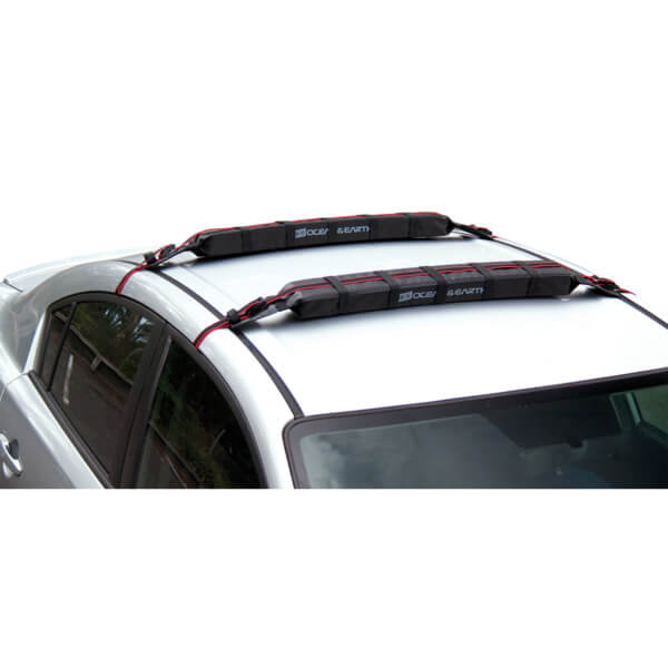 Ocean & Earth Surfboard Multipurpose Rax Black Soft Rack